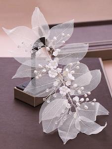 Headpieces do casamento Headwear Flower Metal Acessórios para o cabelo nupcial