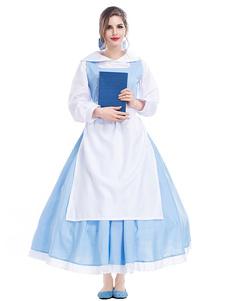 Mulheres Halloween Trajes Maid Bow Headwear Avental Feriados Trajes Set