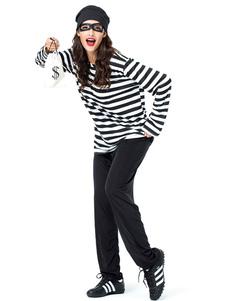 هالوين ازياء المرأة السجين العين تصحيح حقيبة يد المشارب هالوين العطل ازياء