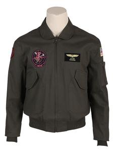 Top Gun Maverick 2 Косплей Maverick Bomber Jacket Хлопковая пилотная куртка Летная куртка