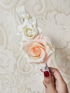 أسود لوليتا زينة الزهور بولي القطن مزيج الإكسسوار متنوعة