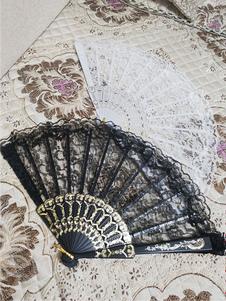 Accessori Lolita neri Accessori misto misto cotone e pizzo
