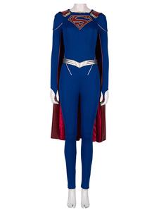 Supergirl Cosplay Supergirl Сезон 5 Комбинезон Хлопок DC Comic Косплей Костюм