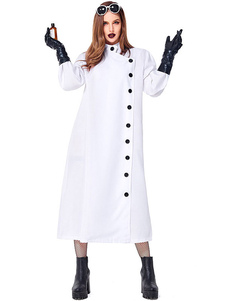 Костюмы Хэллоуина женские Перчатки Доктора Белые Одежда Праздничные Костюмы Хэллоуина