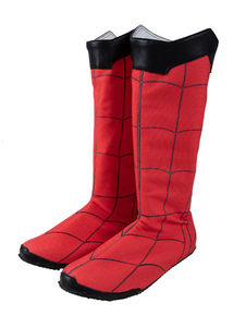 Carnaval Spider Man Cosplay Shoes Spider Man Far From Home Versión mejorada Lycra Spandex Cosplay Boots