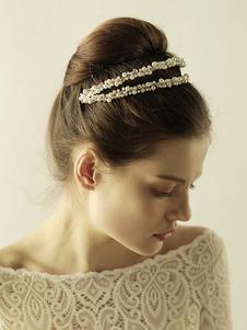 Accesorio para el pelo de la boda Accesorio Accesorios de pelo de metal para novia