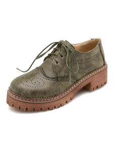 أوكسفورد المرأة الرجعية يؤلمها جولة تو الرباط حتى أحذية خمر