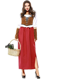Trajes de halloween trajes de carnaval das mulheres traje multicolor de férias halloween