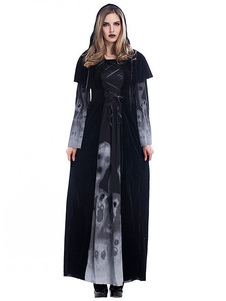 Trajes de Halloween Trajes de Halloween de bruxa de mulher Traje de Halloween de trajes de feriados