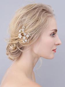 Headpieces Wedding Accessory Acessórios de cabelo de noiva de metal