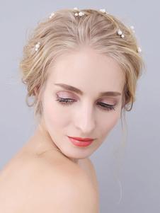 Headpiece Wedding Accessory Acessórios de cabelo nupcial de metal