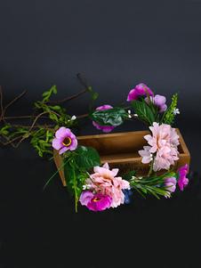 Головные уборы Свадебные головные уборы Хлопчатобумажные аксессуары для волос для невесты
