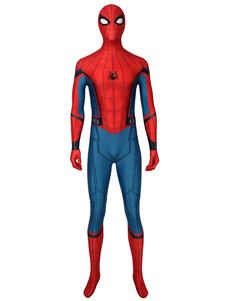 Carnaval Spider Man: Far From Home Peter Parker Catsuits% 26 Zentai American Comics Medias de disfraces de Cosplay