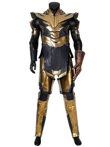 Carnaval Marvel's The Avengers 4 Thanos Polyurethane Marvel Comics Disfraz de Cosplay