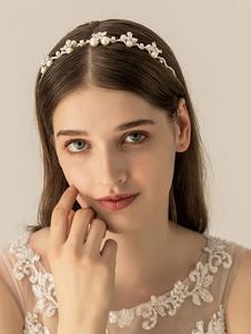 أغطية الرأس الزفاف أغطية الرأس زهرة المعادن الزفاف اكسسوارات الشعر