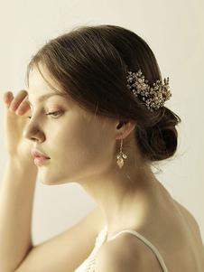 Accesorios para el cabello accesorios para la boda accesorios para el cabello de metal para la novia