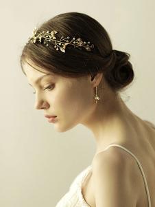 Casco Accesorio de boda Accesorios para el cabello nupcial de metal