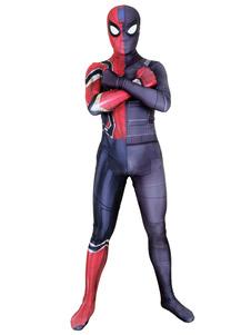 Carnaval Spider Man Cosplay Disfraz Iron Spiderman Marvel Comics Cosplay Mono