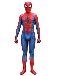 Carnaval Spider-Man Cosplay Spider Man Película roja Lycra Spandex Mono Leotardo Marvel Comics