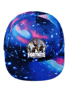 Carnevale Cappelli cosplay di Fortnite Cosplay Anime Night Lights Cappelli Cappellino in cotone