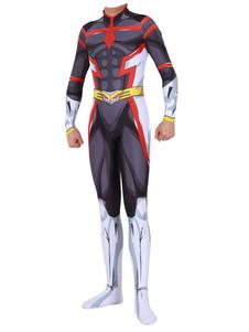 Disfraz Carnaval Boku No Hero Academia Cosplay All Might Black Jumpsuit Disfraces de Cosplay Carnaval