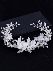 Acessórios do cabelo da pérola do Headpiece do Headpiece do casamento para a noiva