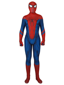 Carnevale The Amazing Spider Man Lycra Spandex Tuta Costume Cosplay film