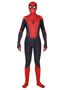 Carnevale Costume cosplay di Spider Man Far From Home in lycra spandex