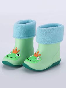 أحذية المطر للأولاد خنزير الضفدع الدب أحذية مقاومة للانزلاق كيد لفصل الشتاء