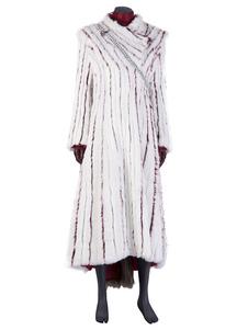Игра престолов 8 косплей белые Daenerys искусственного меха замша косплей костюмы