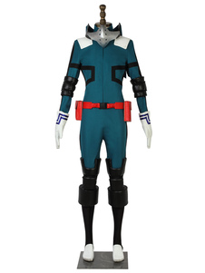 Deku Trajes Cosplay Midoriya Izuku Uniforme Macacão de Pano My Hero Academia Cosplay