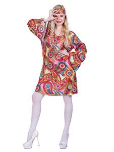 1960s، retro، الأزياء، نساء، إستبدل، اللباس، الهبيين، هالويين، ثوب نسوي