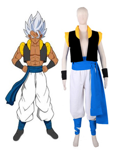 Disfraz Carnaval Dragon Ball Cosplay disfraz Super Broly Son Goku Kakarotto y Vegeta Gogeta traje Anime Cosplay disfraz Carnaval