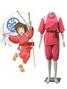 Disfraz Carnaval Spirited Away Cosplay Ogino Chihiro Traje Shounen Cosplay Disfraz Carnaval