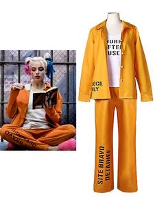 Carnevale Harley Quinn Cosplay Birds Of Prey Suicide Squad Orange Prinson Costume DC Comics Costume cosplay