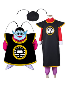 Costume Carnevale Dragonball Cosplay Z Il costume cosplay anime grasso in stoffa uniforme Kaio Kais
