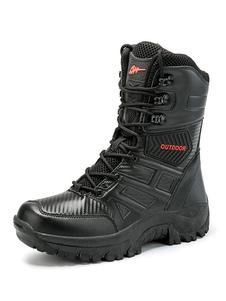 أحذية رجالي العسكرية أحذية المشي لمسافات طويلة في الهواء الطلق تسلق الجبال تنفس الأحذية الرحلات