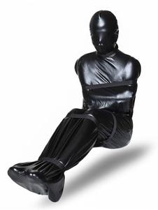 ازياء الكبار مثير بو بذلة الأنف التنفس BDSM الجنس ارتداء مع الشريط