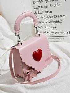 Сладкая Лолита Сумка Розовый PU Кожаная Сумка Лолита Аксессуары