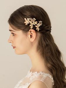 Headpieces do casamento acessórios para cabelo acessórios de cabelo de metal para noiva