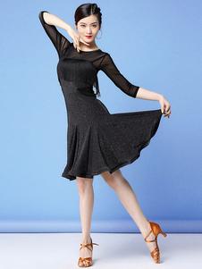 زي الرقص اللاتينية هامش كشكش المرأة اللاتينية الرقص راقصة زي