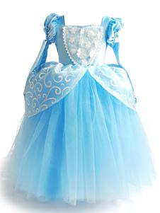 زهرة فتاة الالبسه جوهرة عنق قصير الأكمام مطوي الاطفال حزب فساتين سندريلا فستان الأميرة