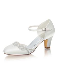 أحذية الزفاف الجزء الثاني جولة تو أحذية منتصف العرسان كعب منخفض