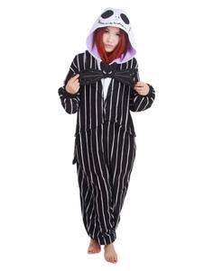 Pijama Onesie Kigurumi O Pesadelo Antes do Natal Jack Kigurumi Costumes