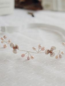 Свадебная подвязка для невесты Великолепный эластичный атласный жемчуг