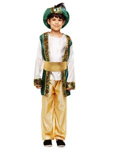 Малыш Арабский Костюм Велюр Арабский Принц Детский Костюм