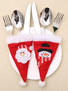 عيد الميلاد أدوات المائدة حقيبة زين بوم بوم حزب الديكور