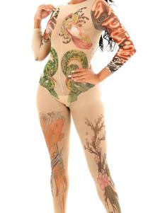 Meias Para Mulheres Nude Floral Imprimir Flores Meias De Nylon