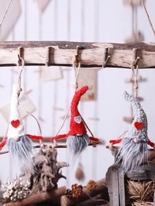زينة عيد الميلاد حلي دمية زخرفة حزب عيد الميلاد