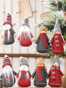 إمدادات حفلة عيد الميلاد زين زين دمية زينة عيد الميلاد حلي